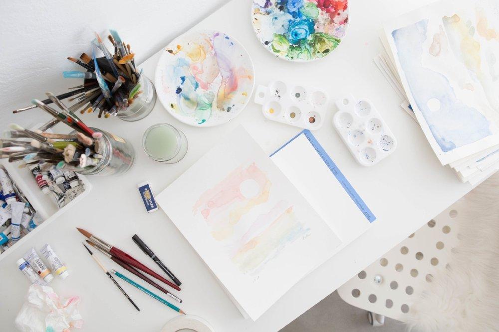 lindsay hollinger artist studio