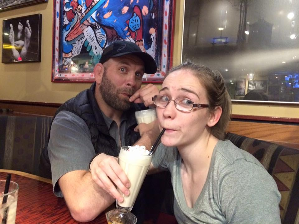 Shared milkshake