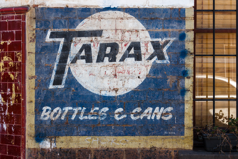 Tarax ghost sign, Melbourne