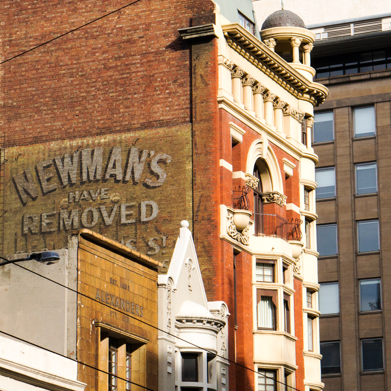 Newmans, ghost sign - Melbourne