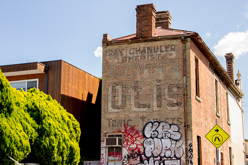 Ottis Tonic Tablet - Ghost sign, Melbourne