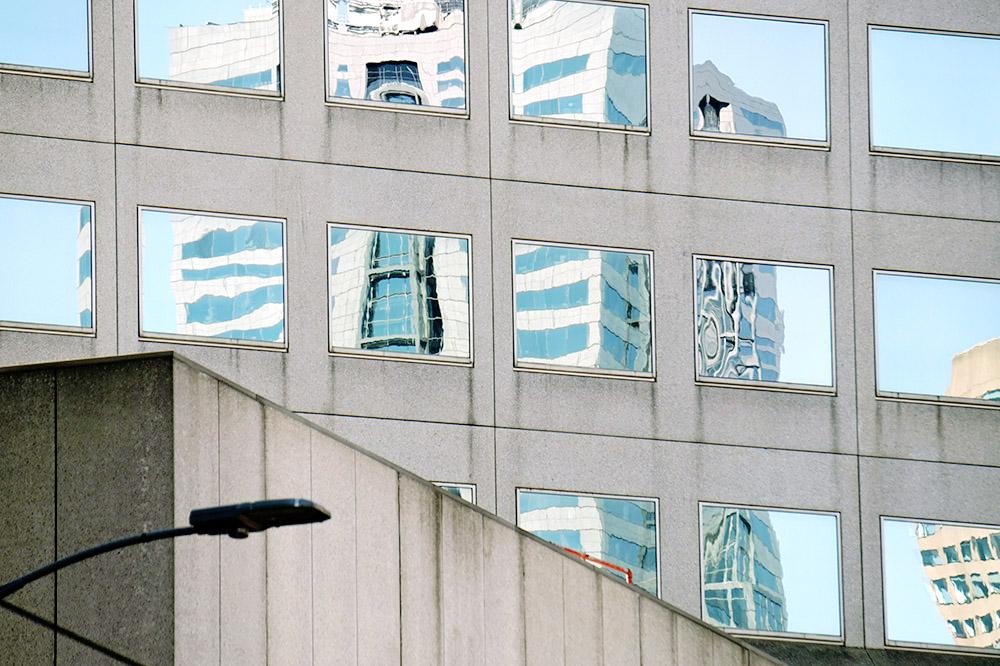 Urban reflection - Elizabeth Street, Melbourne