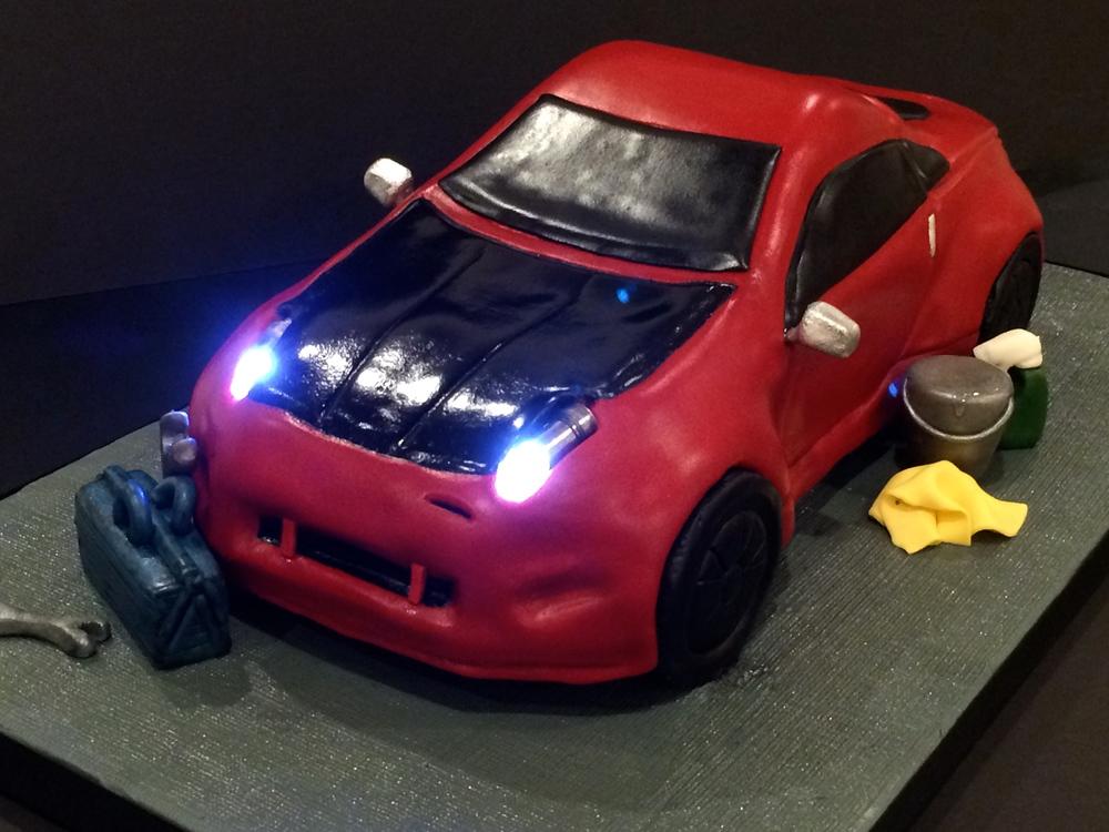 Nissan 350z Car Groom's Cake