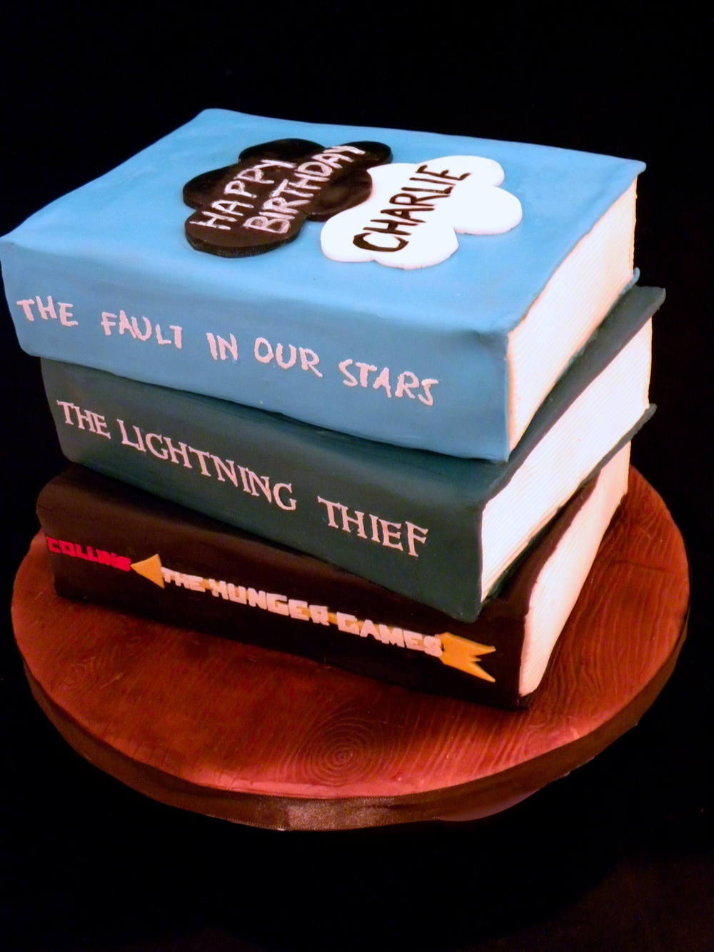 Young Adult Fiction Cake