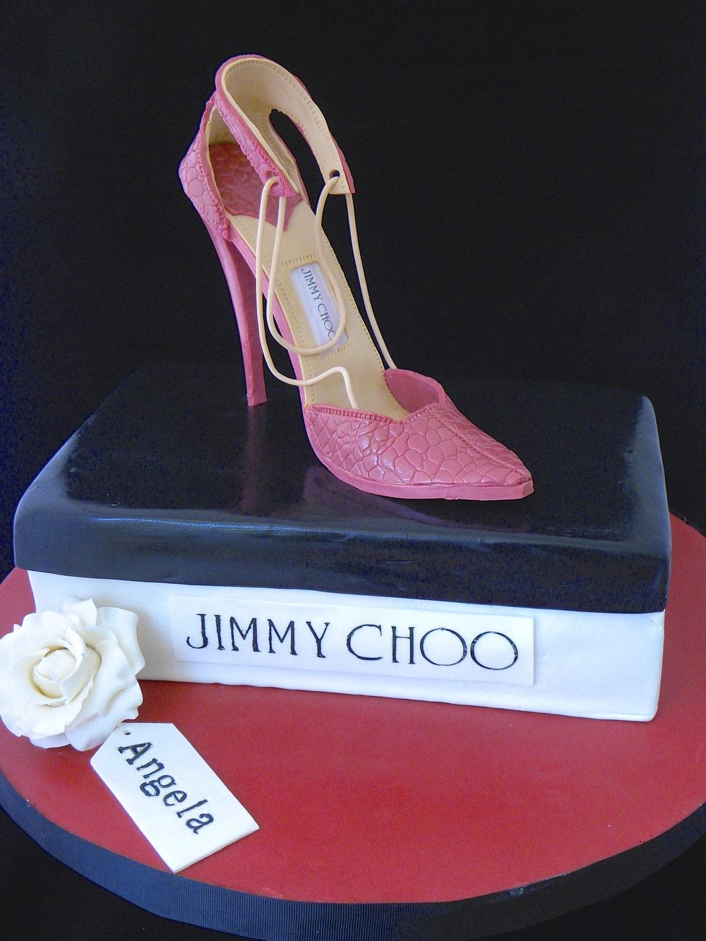 Jimmy Choo Stiletto Cake