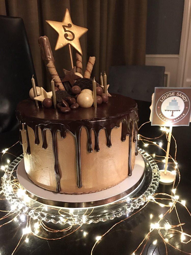 Chocolate Drip Cake Louise Sandy Custom Cakes