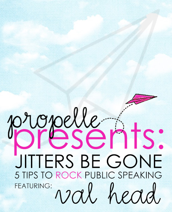 Propelle Presents: Jitters Be Gone!