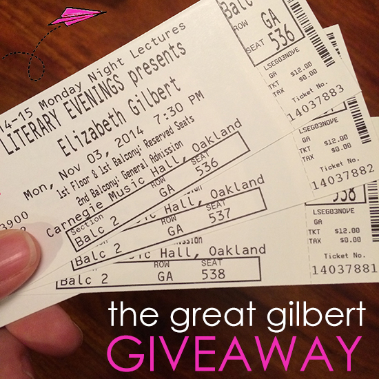 Elizabeth Gilbert at Pittsburgh Arts and Lectures
