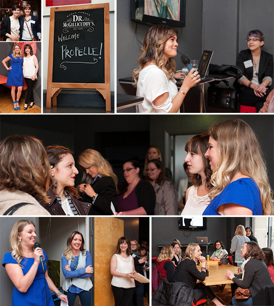 Photos from the Launch + Learn Networking Happy Hour  | Photo credit: Jenny Karlsson Photography