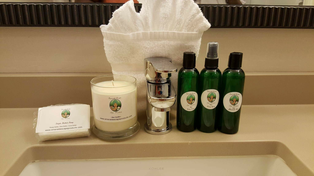 An interview with Chanthini Harrell of Emerald Escape Spa Products | wepropelle.com