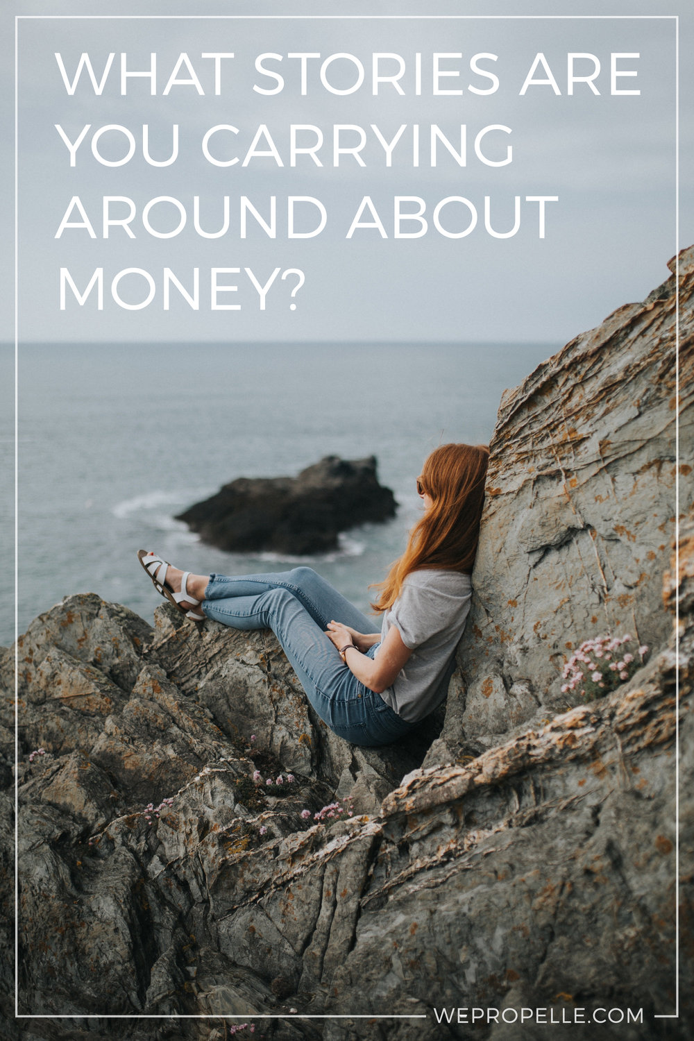 How you think about money can literally make or break your business. Here is a simple exercise to help you examine what those stories are and how you can shift them to something more positive and empowering. | wepropelle.com