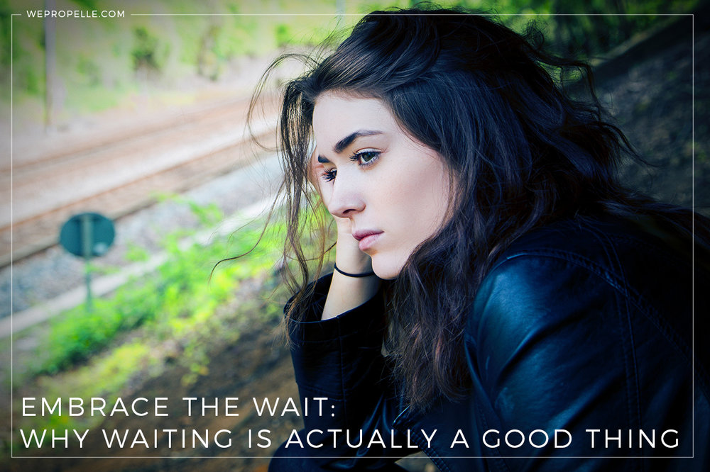 Embrace the wait —why patience and delayed gratification is the key to happiness and success. | wepropelle.com