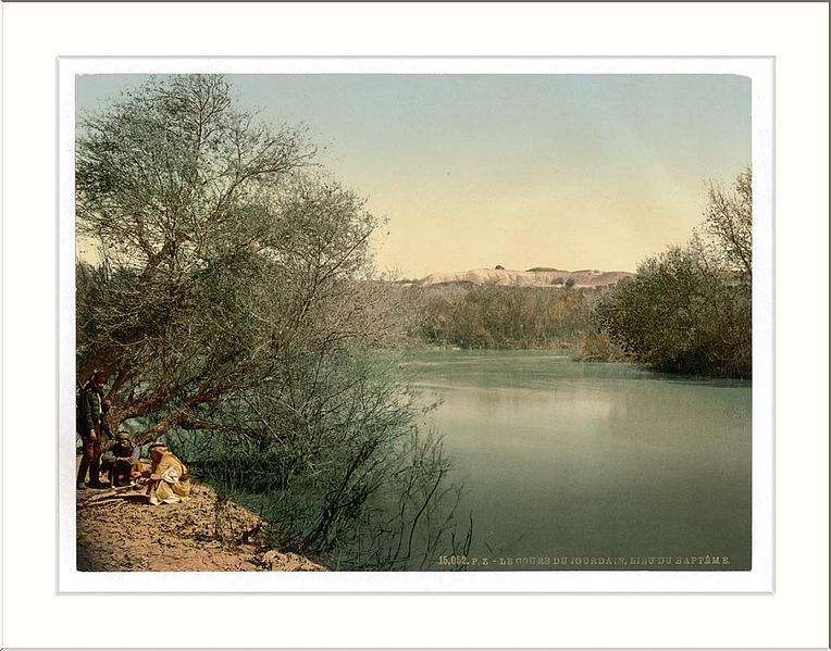 River Jordan, photo by Snapshots of the Past
