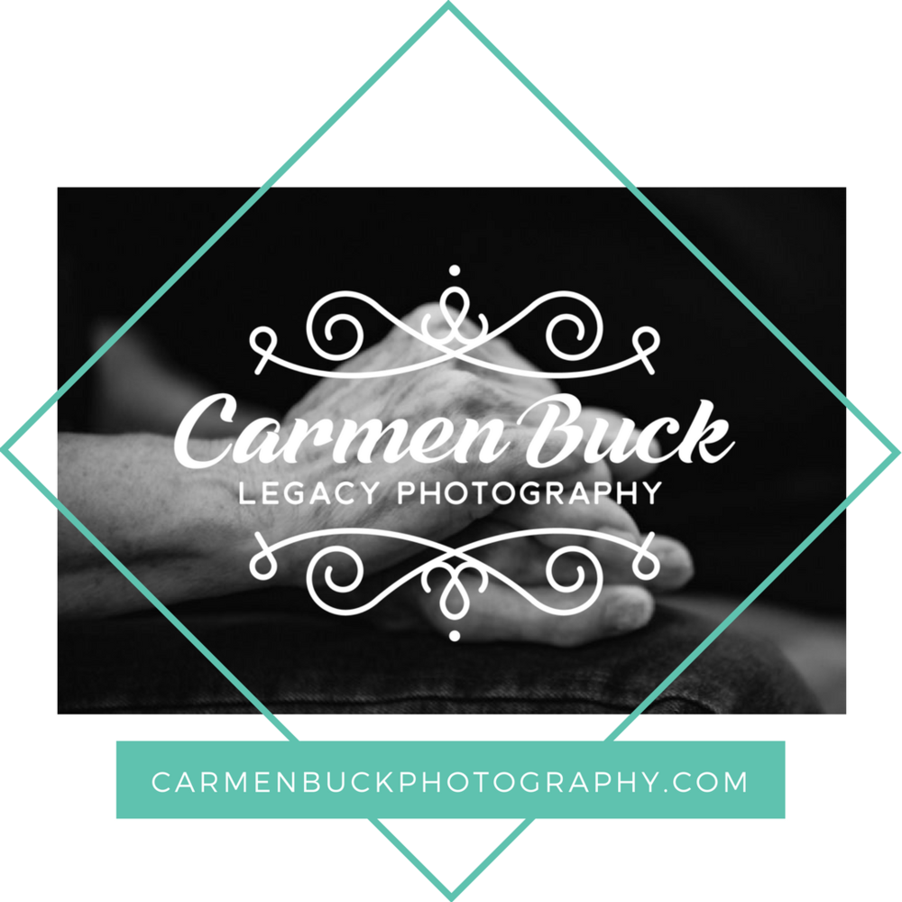 - Many families have no suitable photographs of their loved ones who have Alzheimer's. They don't realize honoring ordinary moments with compassionate photography is an important part of their parent's journey.Austin photographer Carmen Buck is on a mission to safeguard those memories.