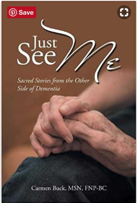 Just See Me-Sacred Stories from the Other Side of Dementia was awarded third place in the 2018 AJN Book of the Year Awards in Creative Works!
