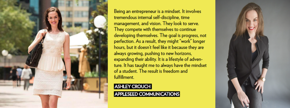 Ashley Crouch Appleseed Communications Female Entrepreneur We Rule Woman Owned Business social media entrepreneur girlboss community werule