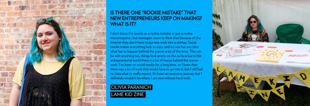 lame kid zine entrepreneur teenage girlboss girl boss business paper magazine creative new york