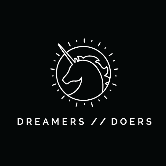dreamers doers fundventures we rule partner logo entrepreneur business girlboss interview inspiration community network app