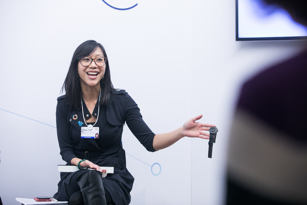 TIFFANY YU  DIVERSABILITY disability inclusive entrepreneur business boss girlboss community venture capital we rule werule