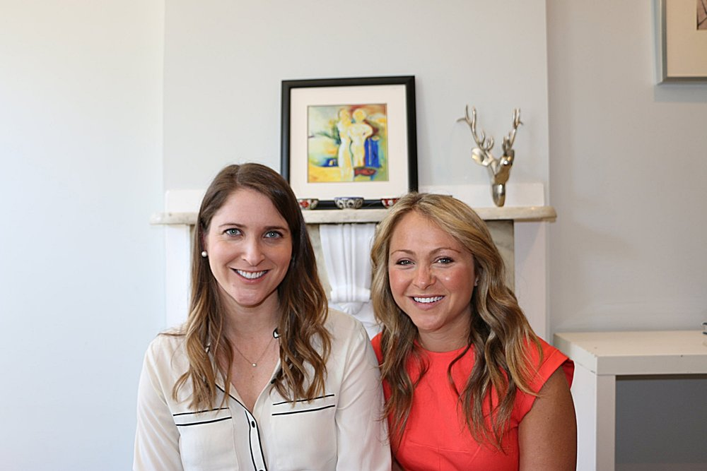 Jane Fisher and Jenna Kenner, founders at Harper Wilde / WE Rule female founder community