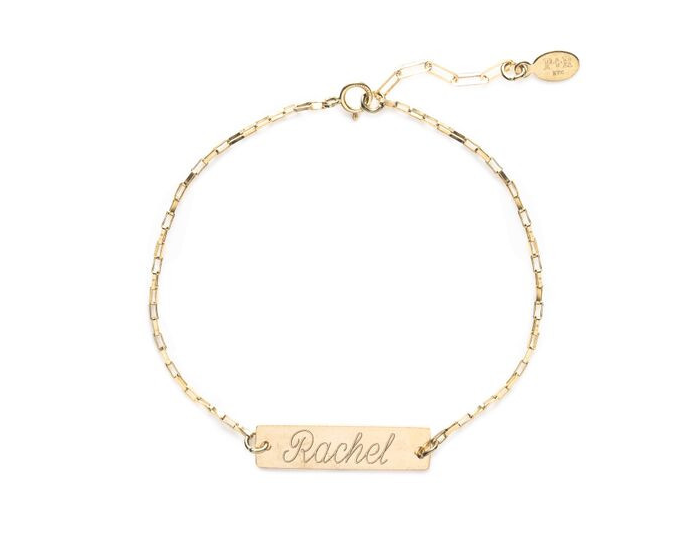 Something personalized:  Our monogram necklaces and bracelets are beautiful and delicate