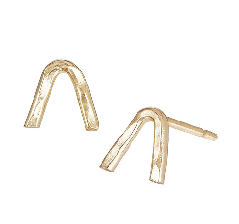 V Bar studs:  Perfect for everyday wear, giftable, good for second holes and multiple piercings