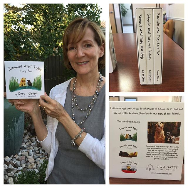 Another big Announcement from Two Gates Publishing!!! The Sammie and Toby Story Box will be available for sale within the next few weeks! Now you can enjoy all three of our Sammie and Toby books in a perfectly package slip case.  This is a perfect gift for anyone who has children, grandchildren, nieces, nephews, or dog lovers.  Keep an eye out for our official release date. The Story Box will be available for sale on our website, www.twogatespublishing.com, Amazon, and Bookworks, located in Albuquerque, NM.  We are now accepting pre-orders! Please contact Amy at amyk@twogatespublishing.com