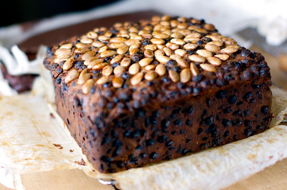 Annie's version of Geoff Beattie's Rich Dark Fruit Cake