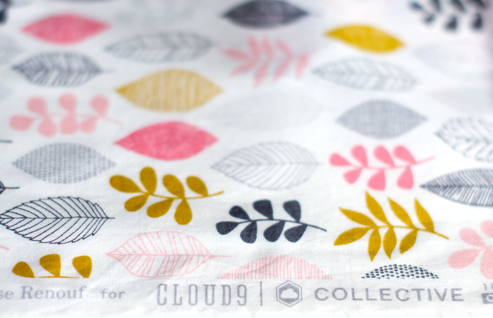 Leaf Sampler from  Eloise Renouf 's  First Light  collection for Cloud9. Photo by Susan Fitzgerald.