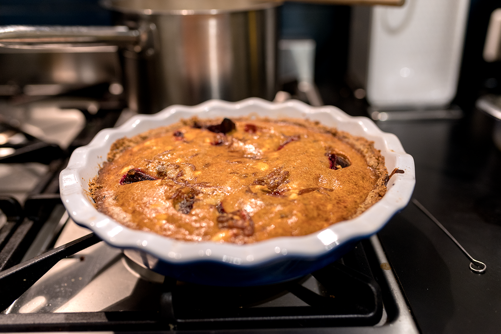 Lunch Lady's Walnut, Oat and Beetroot Tart. The one recipe I can't find online, sorry! But it's in Issue 6, which is a great read. Photo by Susan Fitzgerald.