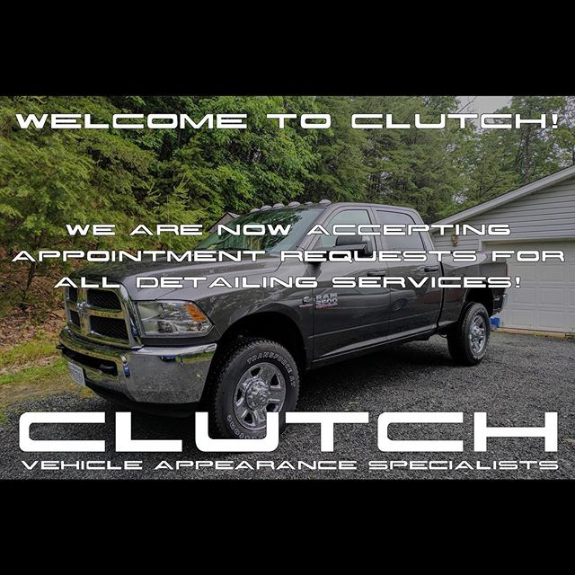 Welcome to Clutch :: Vehicle Appearance Specialists! We are thrilled to announce our grand opening! We will be providing premium and specialty detailing services in the Greater Washington, D.C. Metropolitan area on a mobile basis. We are accepting appointment requests now! Our team consists of lifelong car enthusiasts who are also highly motivated and experienced automotive professionals. We look forward to sharing our passion with others.  More details about our business, our services and a special introductory offer are available on our website.  www.ClutchDetail.com