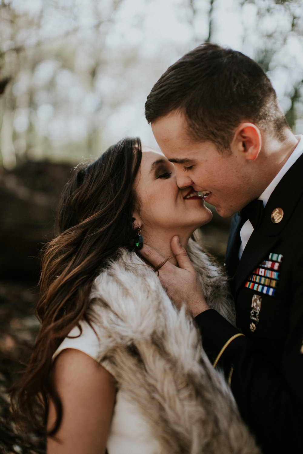 Landa Park Elopement | New Braunfels, Tx Elopement | Military Elopement | San Antonio Wedding