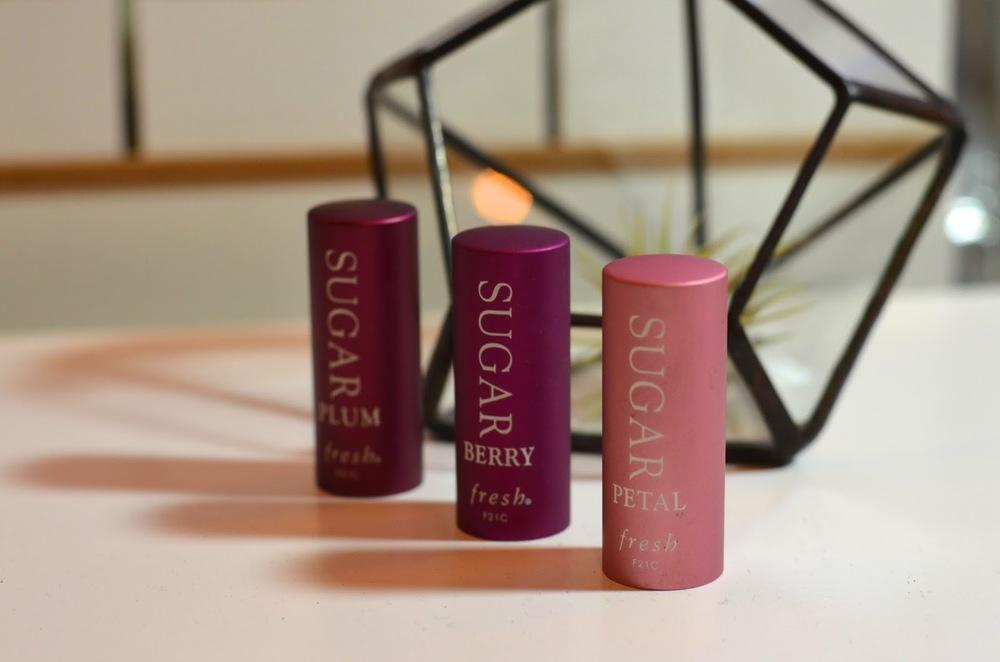 Fresh, Fresh Sugar Lips, Fresh Sugar Lip treatment Tulip, Fresh Sugar Lip treatment Berry, Fresh Sugar Lip treatment Plum