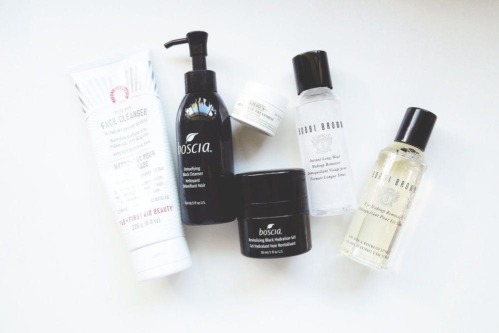 Skincare, First Aid Beauty, Bobbi Brown Makeup Remover, Boscia, Boscia Black, Kiehl's Eye Cream