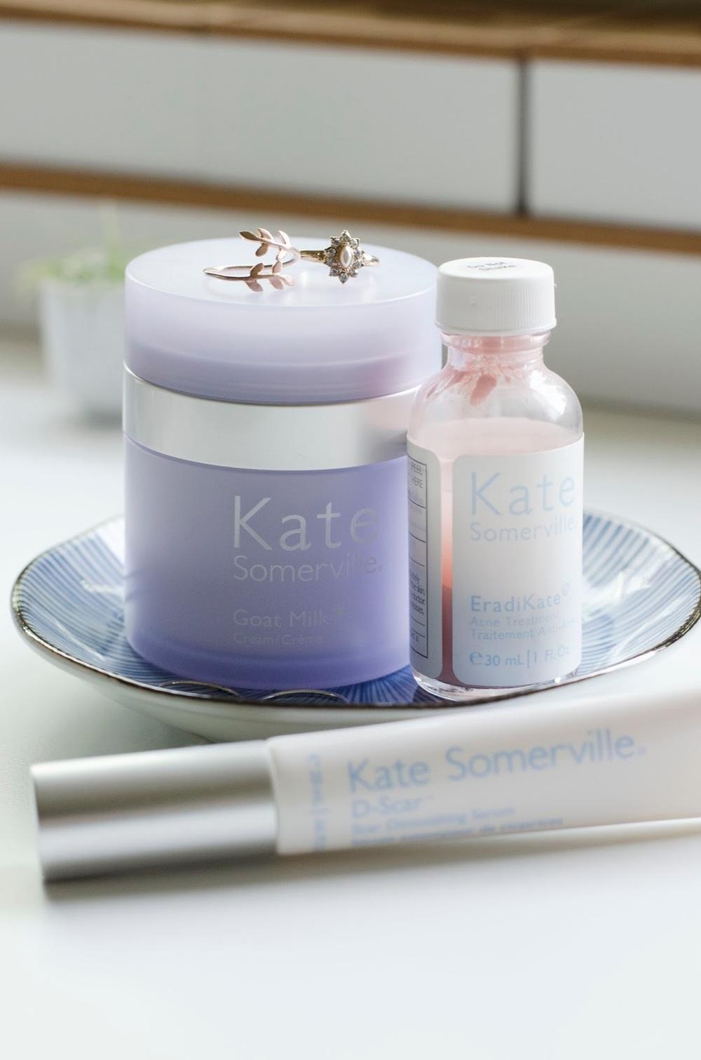 Kate Somerville, Kate Somerville Goat Milk Cream, Eradikate, D-Scar Diminishing Serum