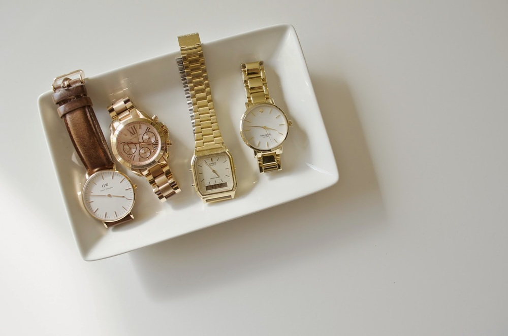 Daniel Wellington, Michael Kors, Casio, Kate Spade, Watch