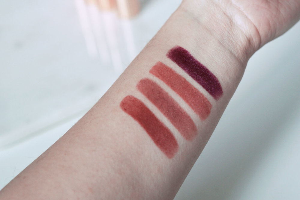 L - R | Bond Girl, Very Victoria, Pillow Talk, Glastonberry