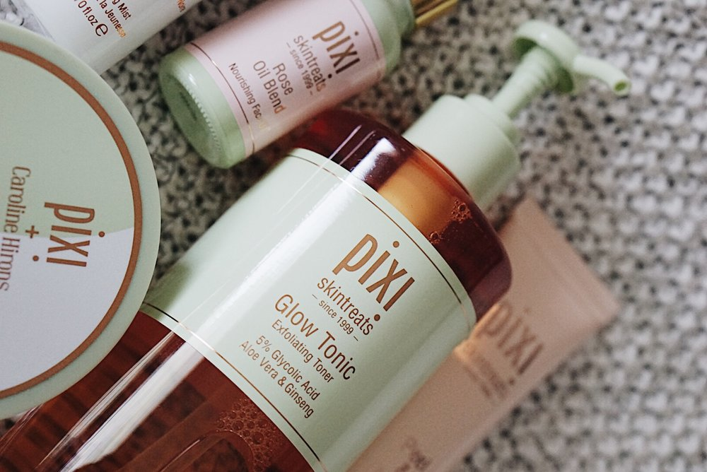 Pixi-Beauty-Skincare-Glow-Tonic-Rose-Oil-Blend-Double-Cleanse-Caroline-Hirons-Brand-Focus-Roundup