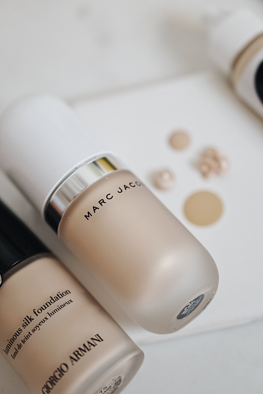 Current Everyday Base for a Dewy Glow + Marc Jacobs Beauty Coconut Dew Drops