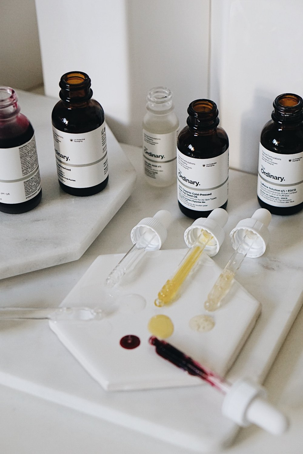 The Ordinary Skincare Review and Serums