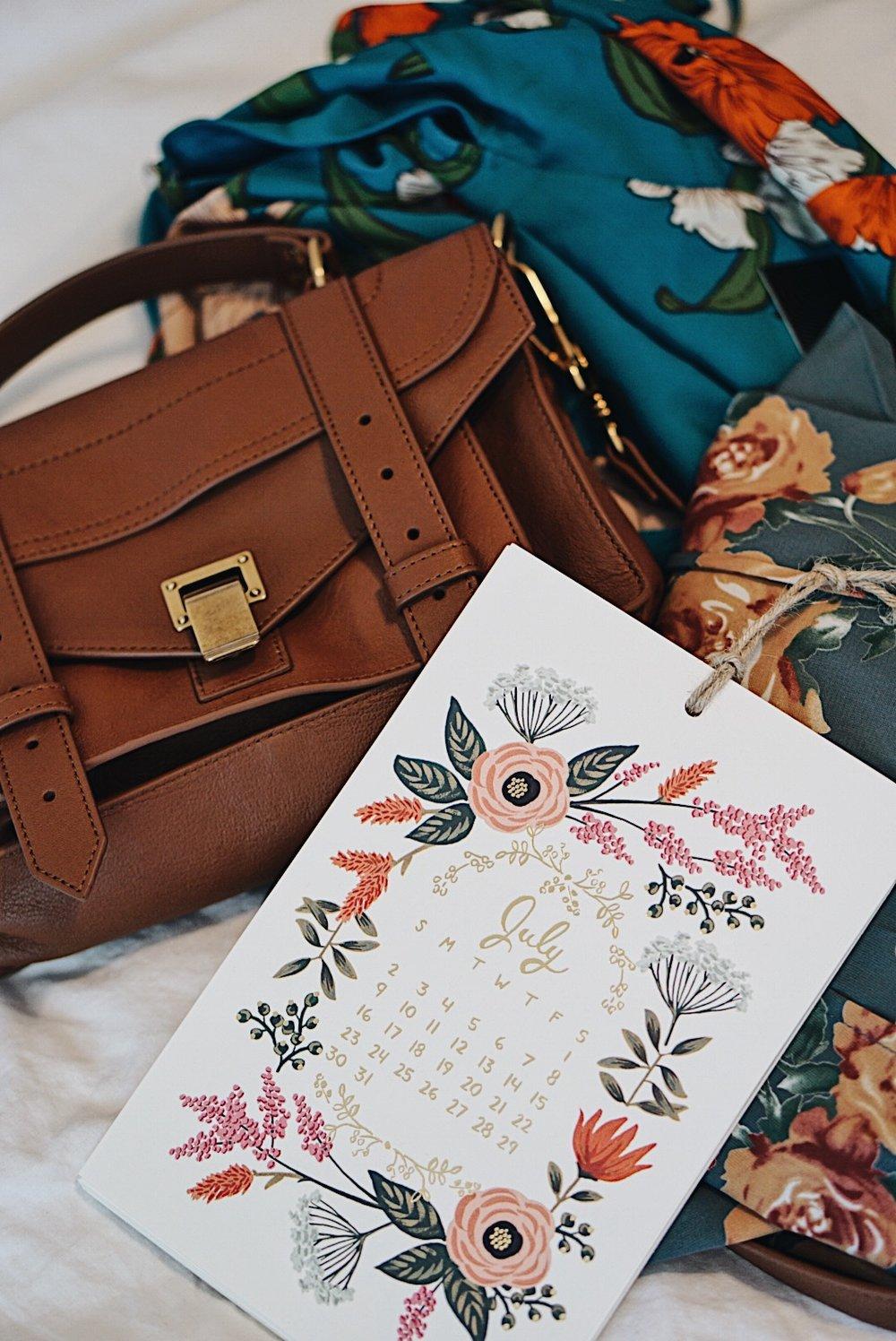 Proenza Schouler PS1 Tiny + Floral Lulus Dresses