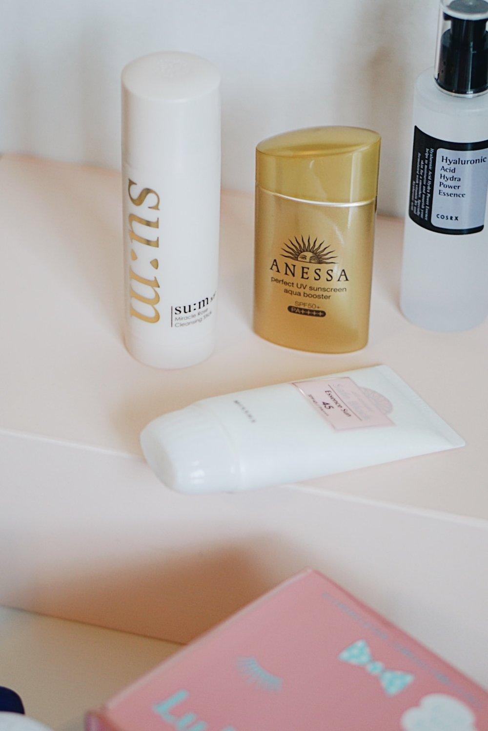 Asian Skincare To Buy: Sum37, Anessa, Missha, Lululun, cosrx