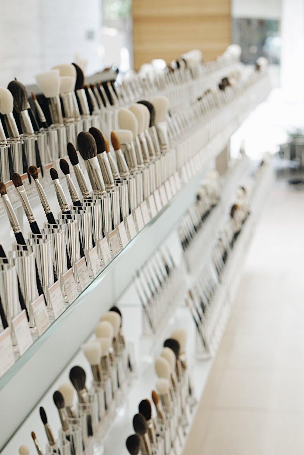 Hakuhodo Brushes Kyoto Store