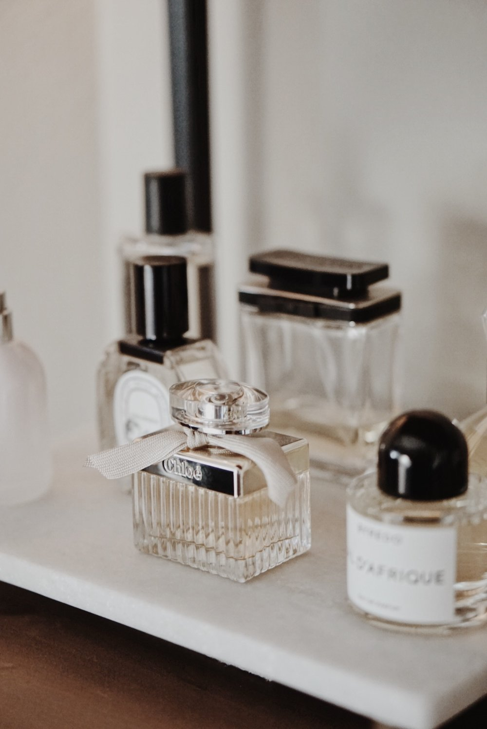 Fragrance Wardrobe - Chloe EDP, Marc by Marc Jacobs, Byredo Bal d'Afrique