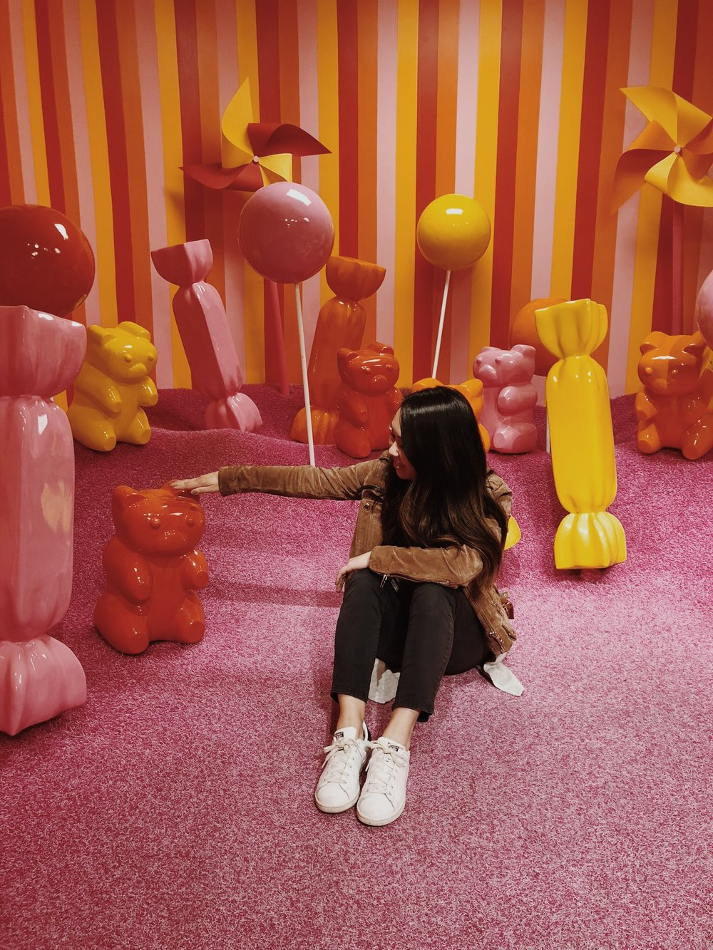 Museum of Ice Cream Milennial Pink Gummy Bear Room