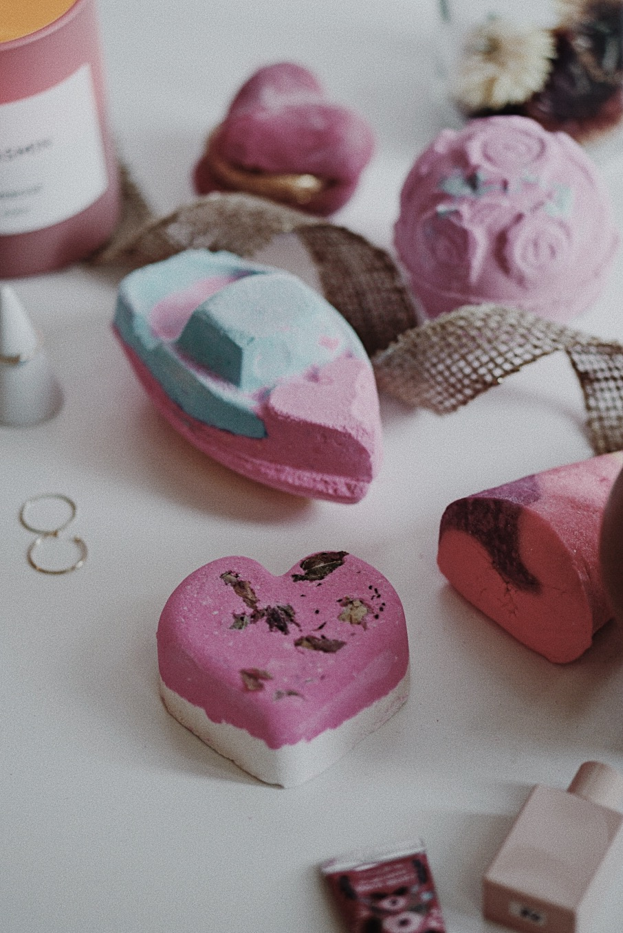 Lush Valentine's Day 2018 Love Hearts Set