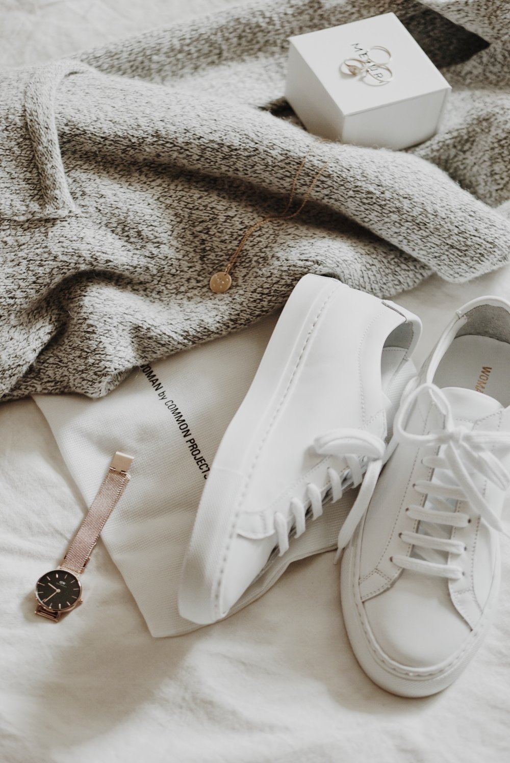 Non Beauty Faves: Common Projects, Mejuri, Daniel Wellington, LOFT