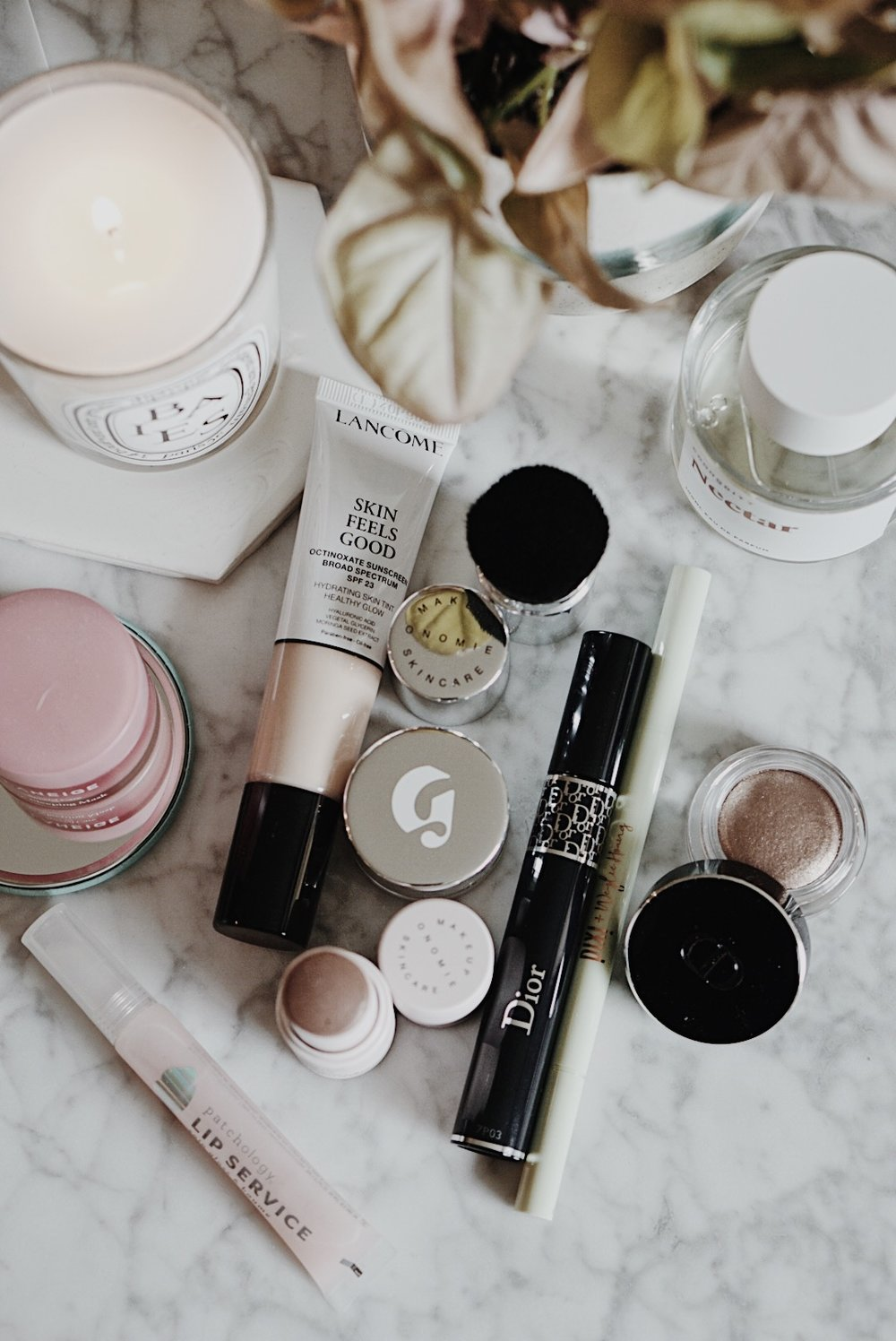 CHY Makeup Shakeup: Lancome, Glossier, Dior, Pixi, Laneige, Onomie, Patchology, COmmodity