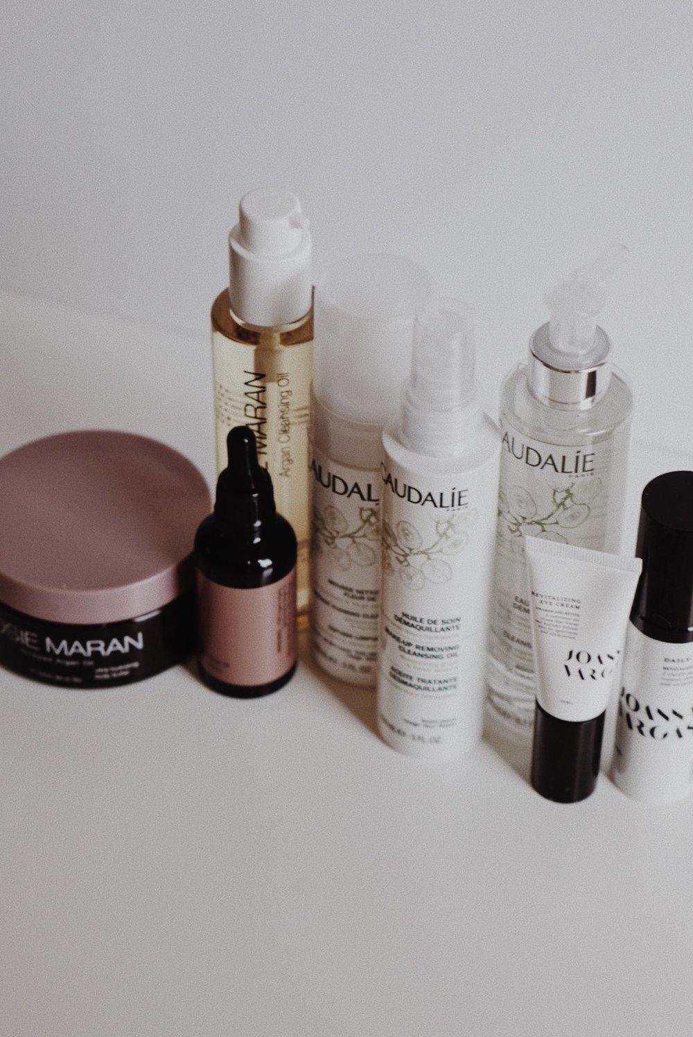 Skincare PR Haul Josie Maran, Caudalie, Joanna Vargas, ClarityRX