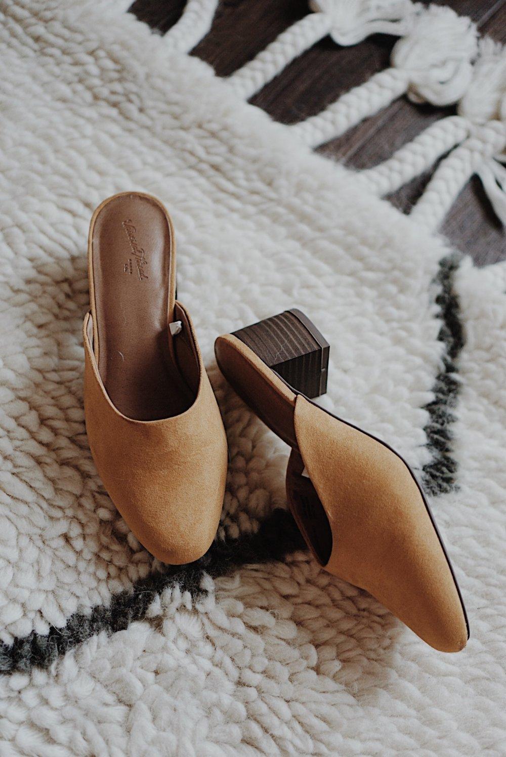 Target Style Mustard Mule Slip On Heel Review Summer Essentials